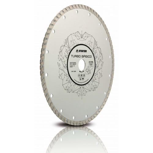 Диамантен диск STAYER TURBO BASICO